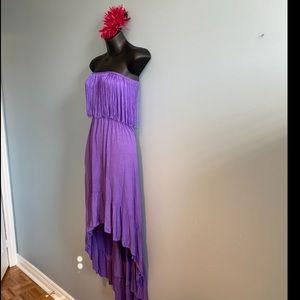 😍 3/$30 High low strapless dress